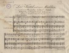 Der Kosak und sein Mädchen nach einer Russischen National-Melodie, mit Begleitung des Pianoforte oder der Guitarre