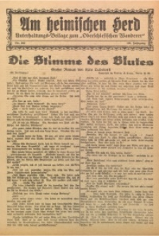 Am Heimischen Herd, 1927, Jg. 100, Nr. 242