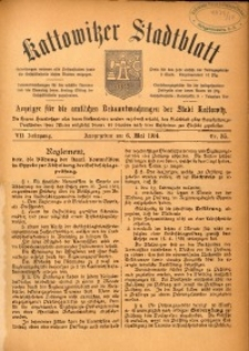 Kattowitzer Stadtblatt, 1914, Jg. 7, nr35