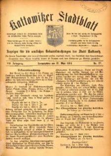 Kattowitzer Stadtblatt, 1914, Jg. 7, nr37