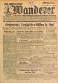 Der Oberschlesische Wanderer, 1927, Jg. 99, Nr. 49