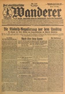 Der Oberschlesische Wanderer, 1927, Jg. 100, Nr. 147