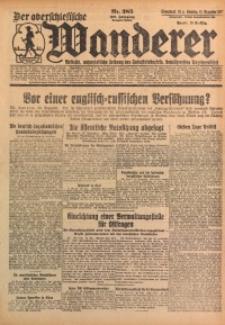 Der Oberschlesische Wanderer, 1927, Jg. 100, Nr. 285
