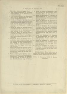 Offizielle stenographishe Berichte über die Verhandlungen der XLI Session des schlesischen Landtages in Troppau. 3. Sitzung am 23. September 1904