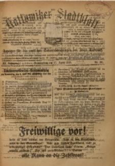 Kattowitzer Stadtblatt, 1918, Jg. 11, nr30
