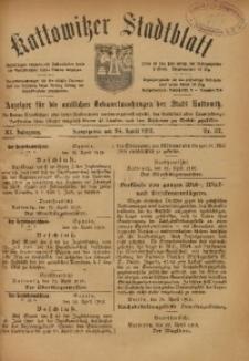Kattowitzer Stadtblatt, 1918, Jg. 11, nr32