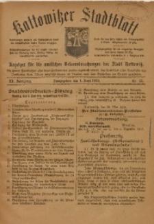 Kattowitzer Stadtblatt, 1918, Jg. 11, nr43