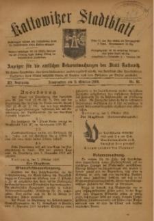 Kattowitzer Stadtblatt, 1918, Jg. 11, nr81