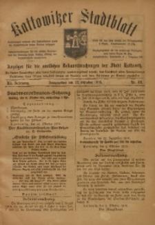 Kattowitzer Stadtblatt, 1918, Jg. 11, nr82