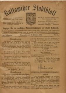 Kattowitzer Stadtblatt, 1918, Jg. 11, nr84