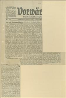 """Artykuł """"Die erste Kriegserklärung"""" o problemach wojen bałkańskich, oraz """"Rekruten lehren"""""""