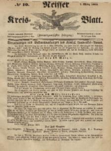 Neisser Kreis-Blatt, 1863, Jg. 22, nr10