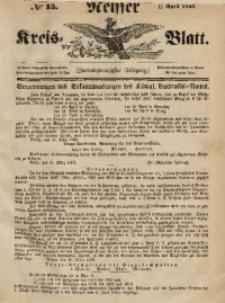 Neisser Kreis-Blatt, 1863, Jg. 22, nr15