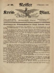 Neisser Kreis-Blatt, 1863, Jg. 22, nr36
