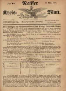 Neisser Kreis-Blatt, 1864, Jg. 23, nr12