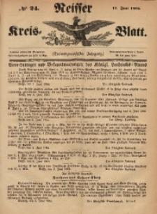 Neisser Kreis-Blatt, 1864, Jg. 23, nr24