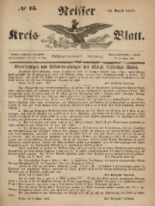 Neisser Kreis-Blatt, 1867, Jg. 26, nr15