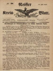 Neisser Kreis-Blatt, 1867, Jg. 26, nr29