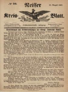 Neisser Kreis-Blatt, 1867, Jg. 26, nr34