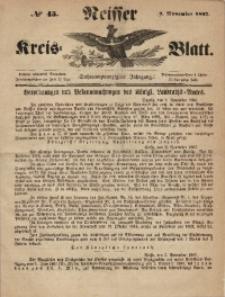 Neisser Kreis-Blatt, 1867, Jg. 26, nr45