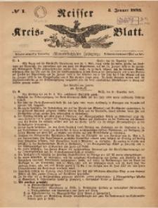 Neisser Kreis-Blatt, 1892, Jg. 51, nr1