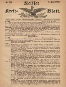 Neisser Kreis-Blatt, 1892, Jg. 51, nr23