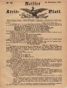 Neisser Kreis-Blatt, 1892, Jg. 51, nr45
