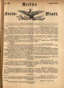 Neisser Kreis-Blatt, 1898, Jg. 57, nr27