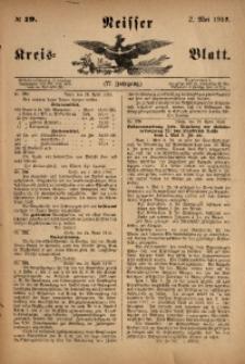 Neisser Kreis-Blatt, 1918, Jg. 77, nr19