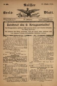 Neisser Kreis-Blatt, 1918, Jg. 77, nr45