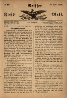 Neisser Kreisblatt, 1920, Jg. 79, nr17