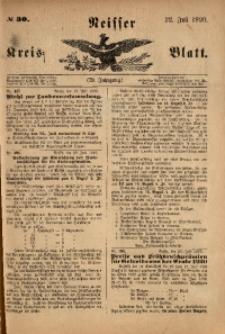 Neisser Kreisblatt, 1920, Jg. 79, nr30