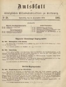 Amtsblatt der Königlichen Eisenbahndirektion zu Kattowitz, 1903, nr38
