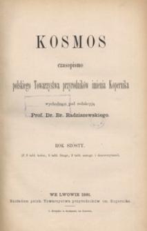 Kosmos, 1881, R. 6