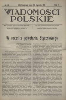 Wiadomości Polskie, 1916, R. 2, nr 61