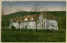 Sanatorium w Bystrej - kolorowa widokówka