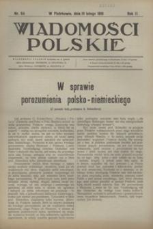 Wiadomości Polskie, 1916, R. 2, nr 64