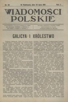 Wiadomości Polskie, 1916, R. 2, nr 86