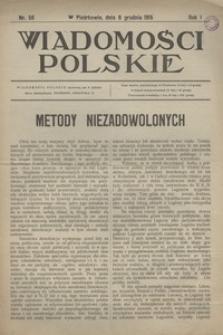 Wiadomości Polskie, 1915, R. 1, nr 56