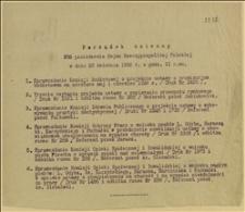 Porządek dzienny 286 posiedzenia Sejmu Rzeczypospolitej Polskiej w dniu 28 kwietnia 1926 r. o godz. 11 rano