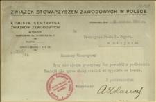 Protokół z posiedzenia Komisji dla sprawy ubezpieczalni od wypadków we Lwowie w dniu 10 czerwca R. 1926