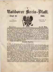 Ratiborer Kreis-Blatt, 1863, Stück 13
