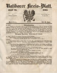 Ratiborer Kreis-Blatt, 1865, Stück 25