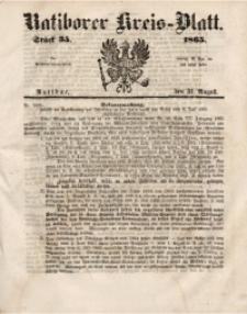 Ratiborer Kreis-Blatt, 1865, Stück 35