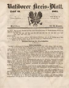 Ratiborer Kreis-Blatt, 1865, Stück 41