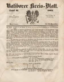Ratiborer Kreis-Blatt, 1865, Stück 47