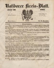 Ratiborer Kreis-Blatt, 1865, Stück 50