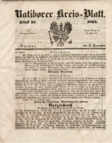 Ratiborer Kreis-Blatt, 1865, Stück 51