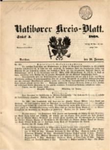 Ratiborer Kreis-Blatt, 1868, Stück 5