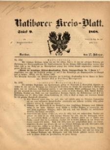 Ratiborer Kreis-Blatt, 1868, Stück 9